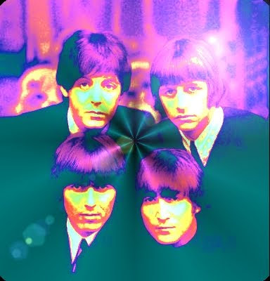 The Beatles, Beatles, John Lennon, Paul McCartney, George Harrison, Ringo Starr, Classic Rock, Beatles History, Psychedelic Art