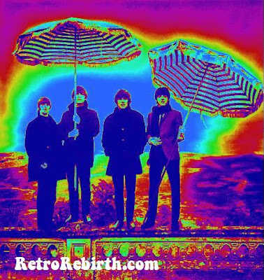 Beatles, John Lennon, Paul McCartney, George Harrison, Ringo Starr, Beatles History, Psychedelic Art, Beatles Psychedelic