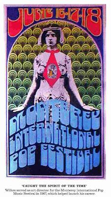 Monterey International Pop Festival 1967 Poster