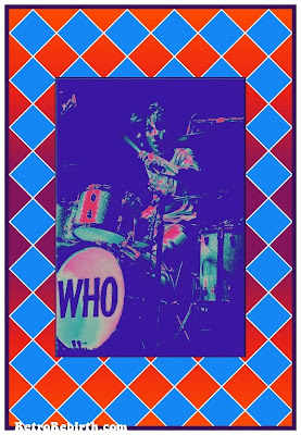Keith Moon, Monterey International Pop Festival 1967, Psychedelic, Pop Art, Hippie