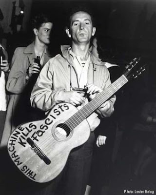 Woody Guthrie, Woody Guthrie Birthday July 14, This Machine Kills Fascists