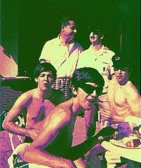 Beatles, Fab Four, Beatles Pool, Beatles Swimming, Beatles Miami, Beatles Beach, Beatles Photos