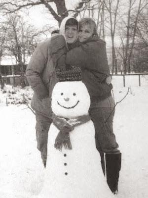 Paul McCartney, Linda McCartney, Paul Linda Snowman