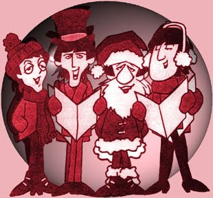 Beatles, Beatles Cartoon, Beatles Christmas