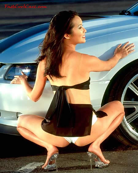 cars and girls hot