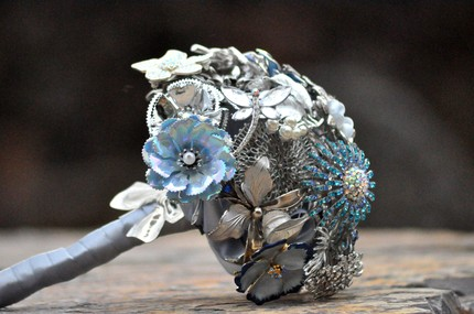 an everlasting brooch bouquet
