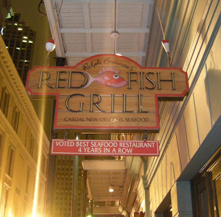 New orleans a culinary escape tie dye travels with kat for Red fish grill