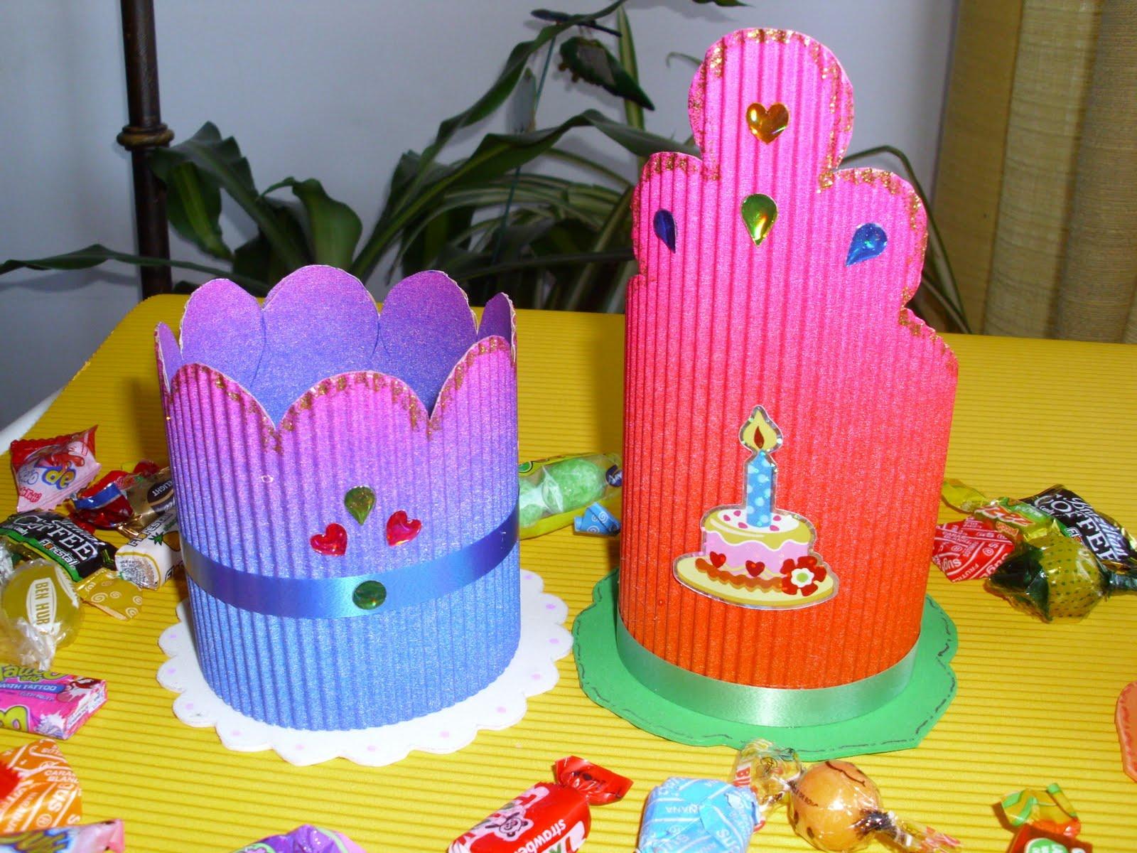 Cotillon en goma eva para cumpleaños - Imagui
