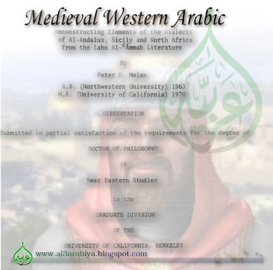 Medieval Western Arabic: Reconstructing Elements of the dialects ...