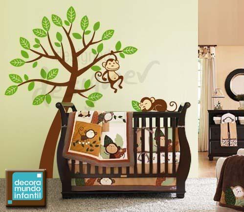 Dibujos de monos en arboles - Imagui