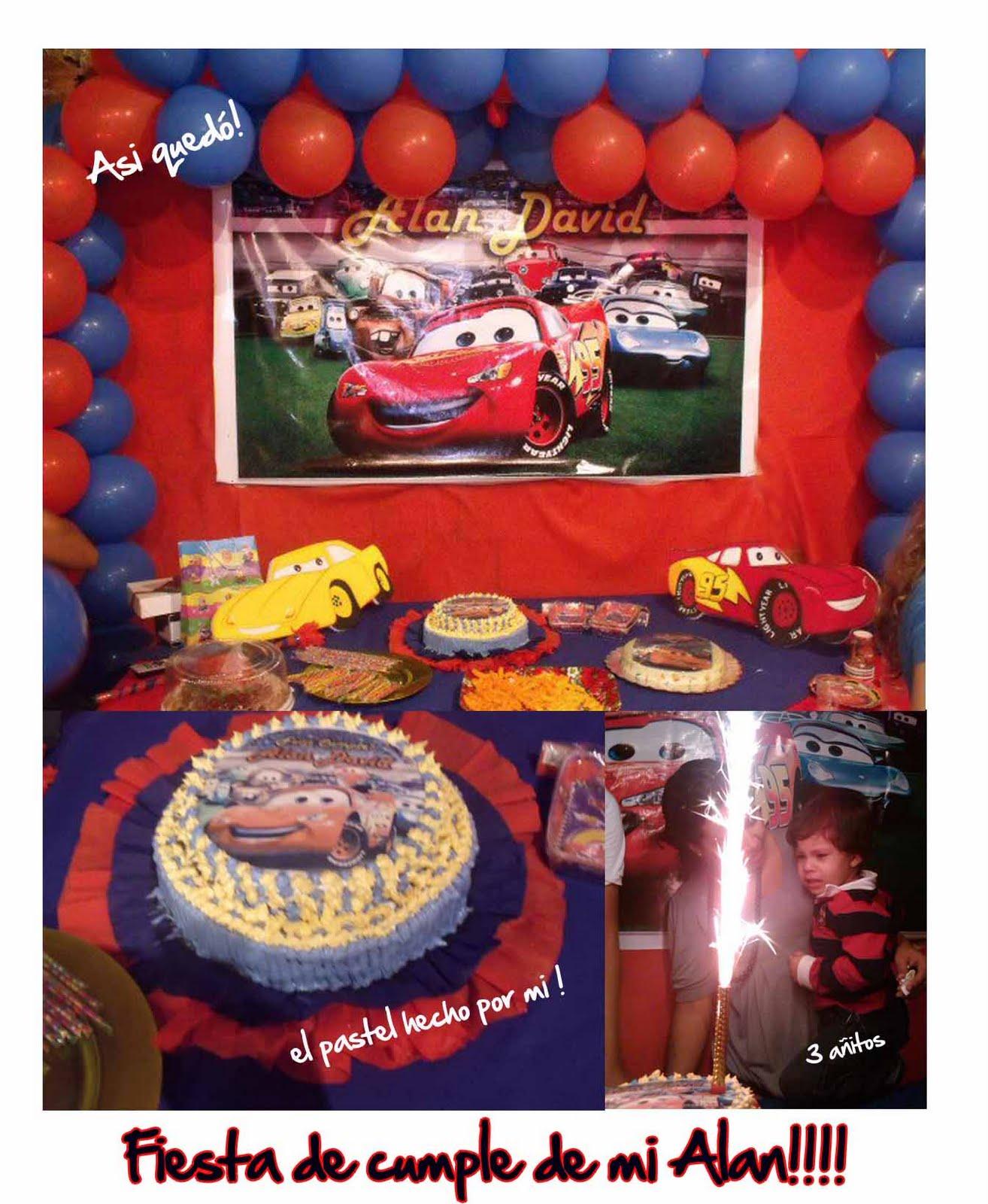 Decoracion Infantil De Cars ~ Decoraciones Infantiles Fiesta infantil  Tema Cars de Disney