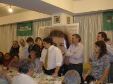 Con Oscar González