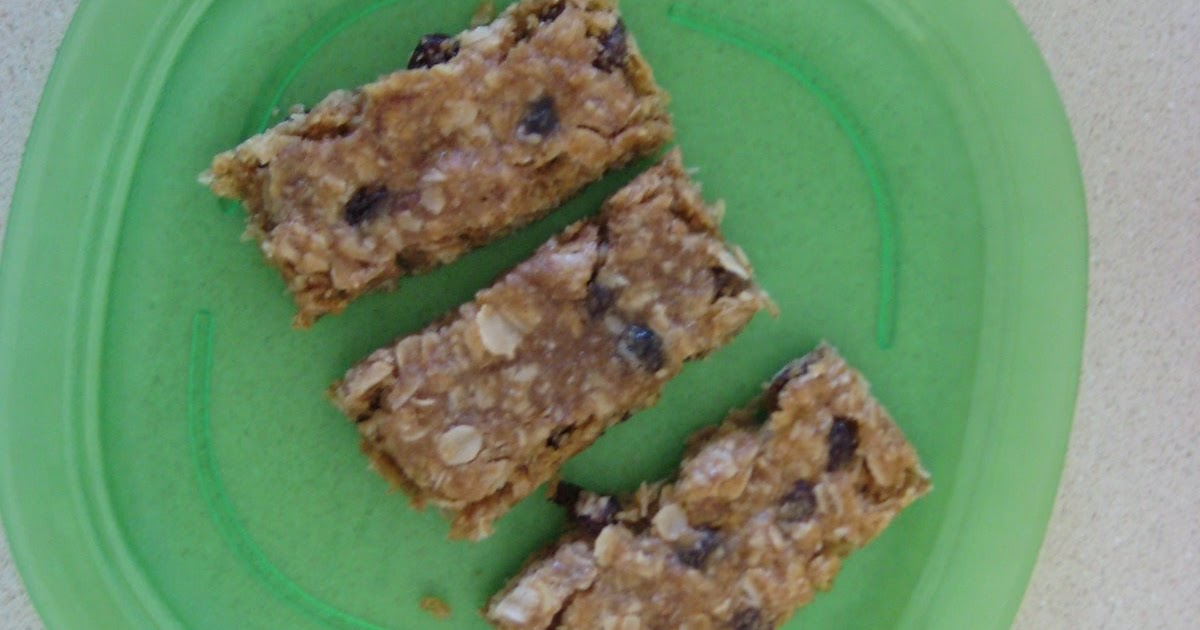Tried and Tried Again: Playgroup Granola Bars