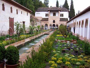 El patio de la acequia i el jard n sombras de tinta for Jardin hispano mauresque