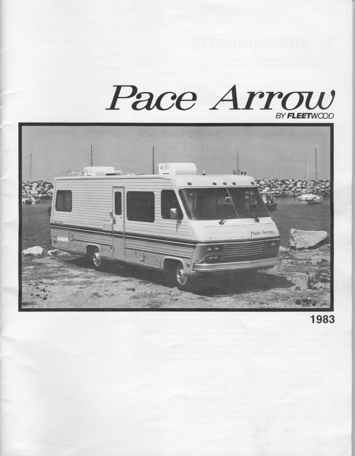 1983 Fleetwood Pace Arrow Owners Manuals: 1983 Fleetwood Pace Arrow on pace arrow fuel diagram, pace arrow tires, pace arrow assembly, pace arrow radiator, pace arrow manual, pace arrow schematics, pace arrow charging system, pace arrow repair,