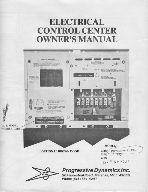 1983 fleetwood pace arrow owners manuals 83 pace arrow power converter manual