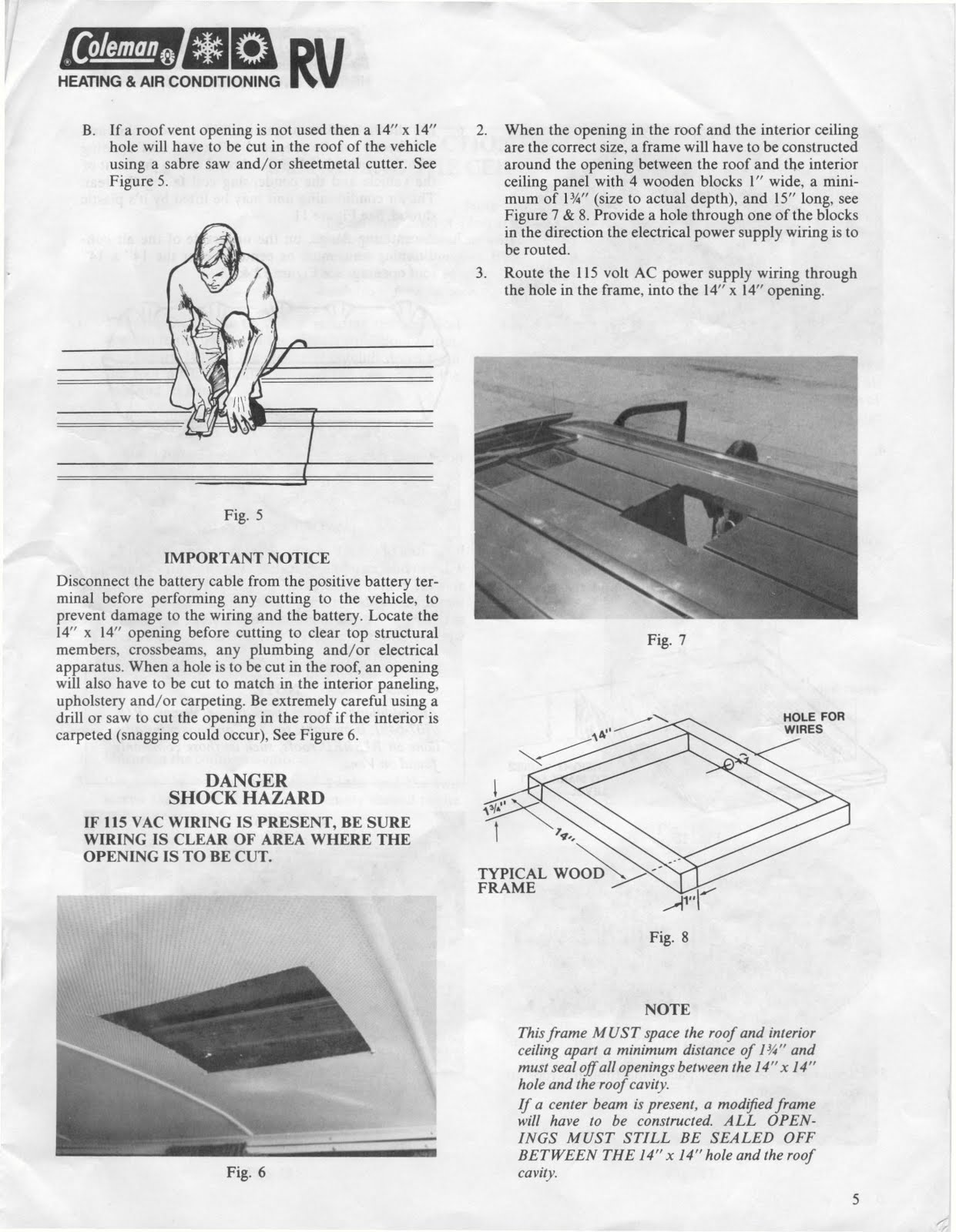 Coleman Rv Air Conditioner Problem Manual Guide