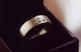 'WITH' Braille ring. 2002