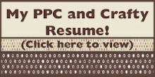 ::My PPC and Crafty Resume::