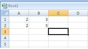 Menghitung Invers Matriks Di Microsoft Excel