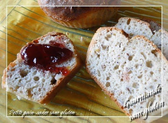 Petits pain-cakes sans gluten