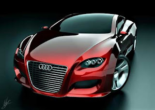 Red Audi Locus Concept Car. Posted by Autos at 1:21 PM