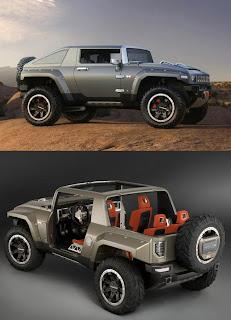 GM Hummer HX SUV Concept