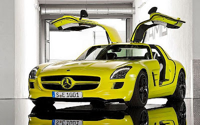 Mercedes Benz SLS AMG E Cell 2013 modified cars