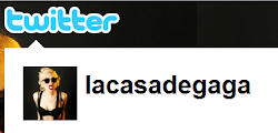 La Casa de Gaga en Twitter.