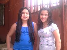 Danna y su amiga nicole