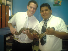 Elder Hansen y Elder Garcia