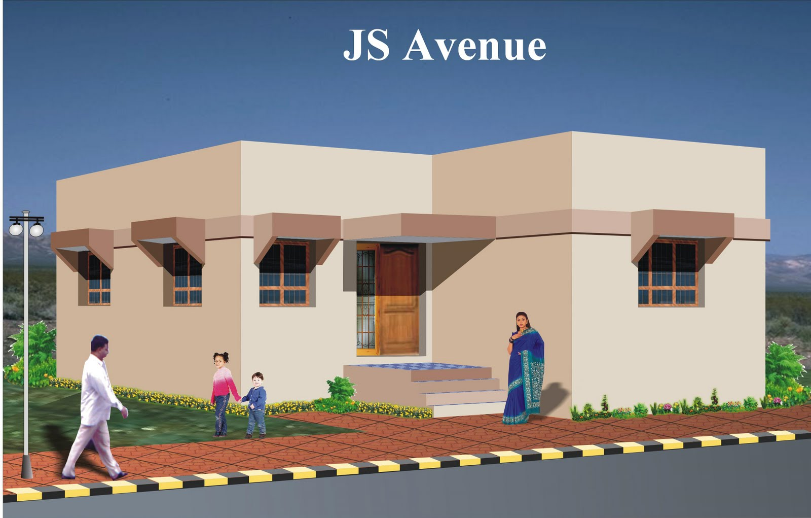 South Indian House Front Elevation Houses Plans Designs