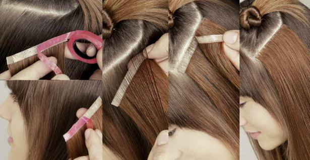 Weft Hair Extensions Video 20