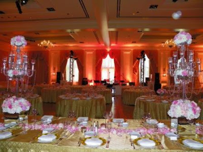 exquisite venue for a wedding a beautifully decorated ballroom bathed