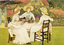 Tea Time, painted by Kate Greenaway