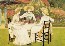 Tea Time, painted by Kate Greenaway