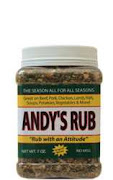 Check out Andy's Rub