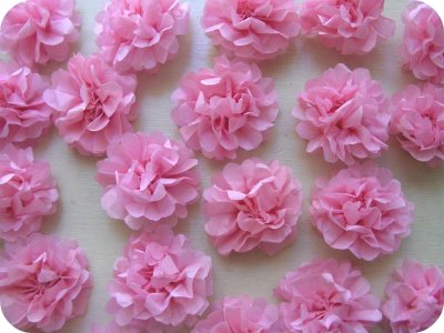 Funclub How To Make Tissue Paper Flowers For Party Decorations