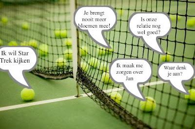 verjaardag vrouw tennis