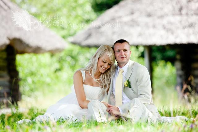 pulmafoto- pruutpaar