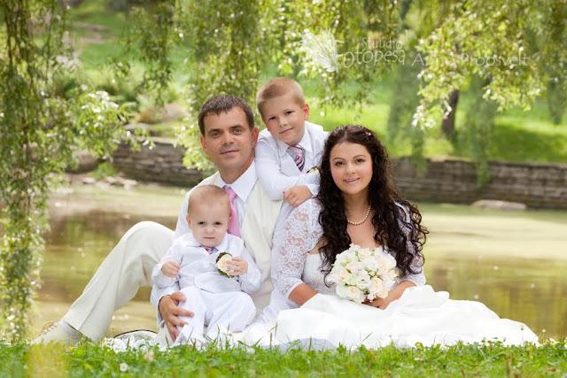 pulmafoto, perekond