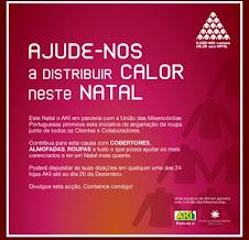 """SOLIDARIEDADE - """"Quentinho este Natal"""""""