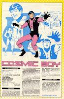 Cosmico Legion Super-Heroes