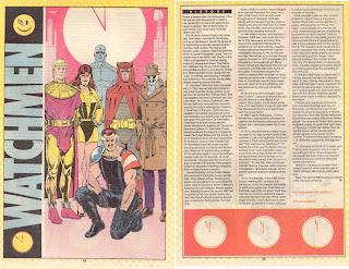 Watchmen Ficha DC Comics