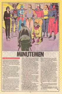 Minutemen Ficha DC Comics