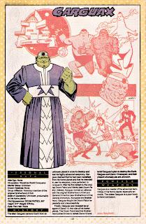 Garguax Ficha DC Comics