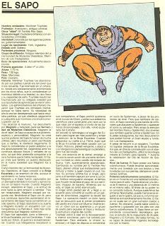 El Sapo (ficha marvel comics)