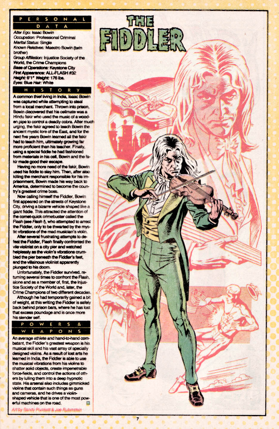 fichas de superheroes marvel y dc octubre 2010