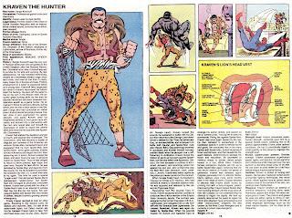 Kraven el Cazador (ficha marvel comics)