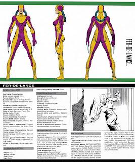 Fer de Lance (ficha marvel comics)